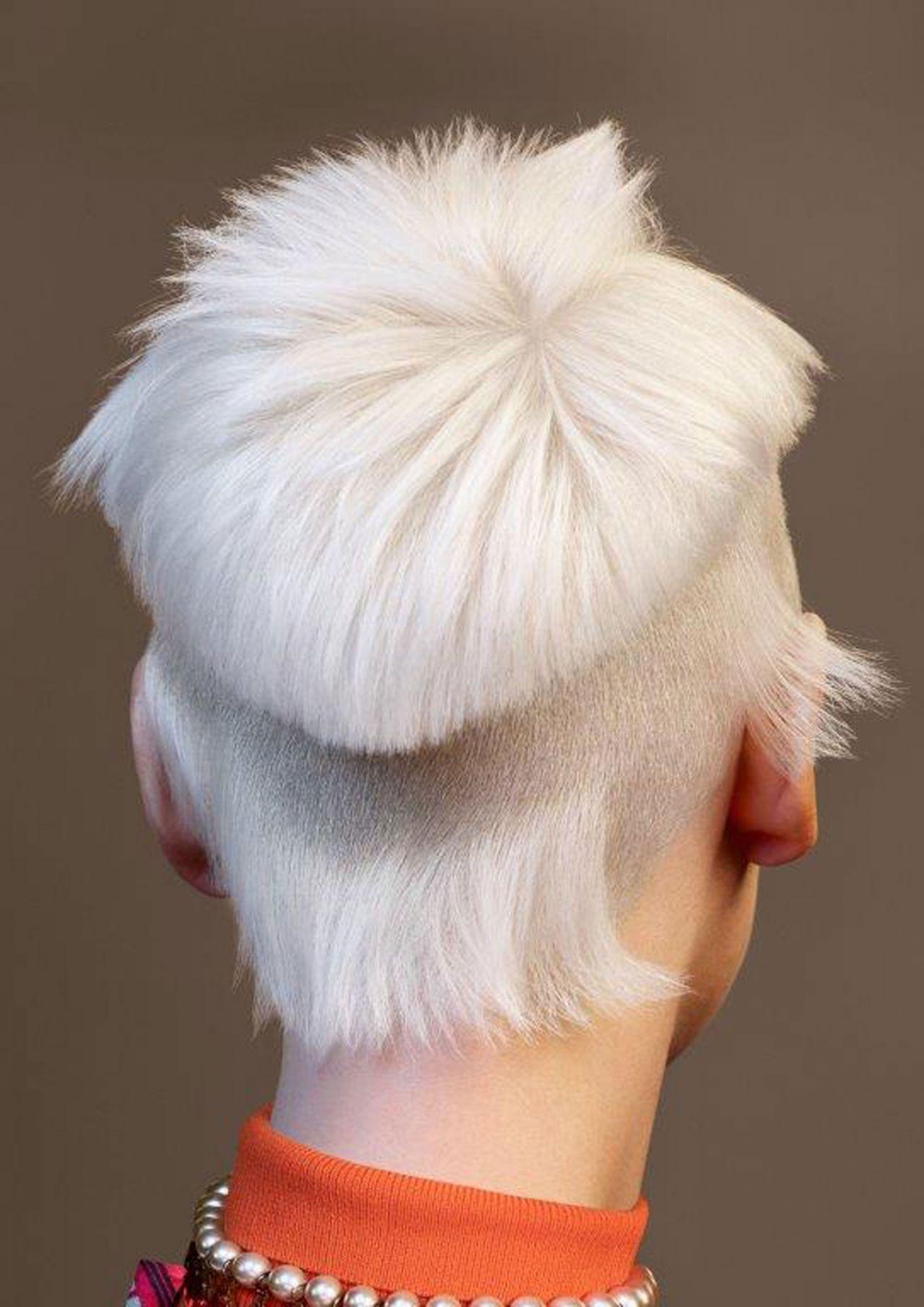 Undercut Damen Hinterkopf Muster - trends frisuren