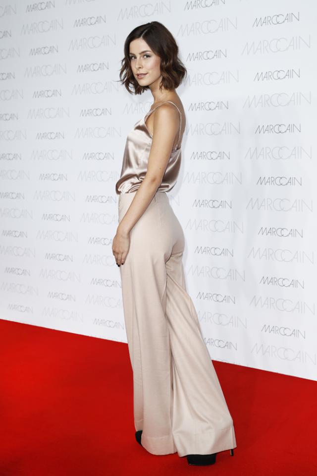 Lena Meyer Landrut Lässig Auf Der Fashion Week
