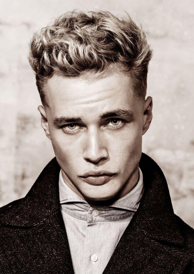 Haare mann blonde 👱 Mann